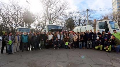 aguas rionegrinas entrega camiones