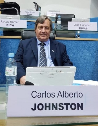 Carlos Johnston, LEGISLADOR JSRN