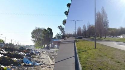 residuos, basura, centro, barrio