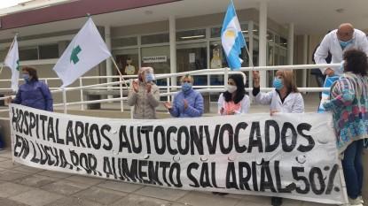 hospital zatti, reclamo, PROTESTA