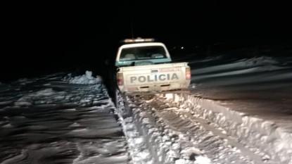 comallo, patrullero, nevada