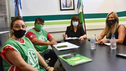 ATE, Bibiana Wilberger, leticia lapalma, Jorge Calvo