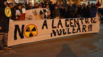 no a la central nuclear