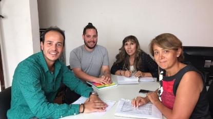 Hernán Bocci, Mercedes Pietranela, Nélida Cheuque, Lautaro Gianola