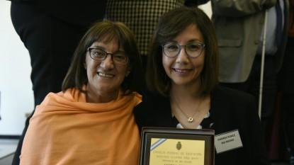 Maestra Ilustre 2019, Andrea Eva Ponce