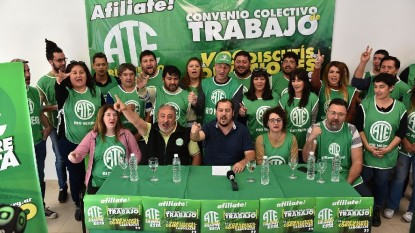 ATE, CONFERENCIA DE PRENSA, Rodrigo Vicente, aldo capretti, leticia lapalma