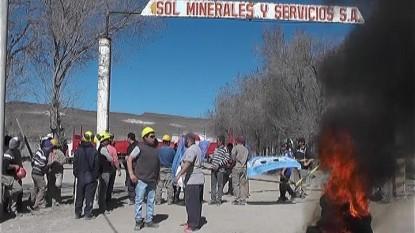 PROTESTA, ingeniero jacobacci, minera