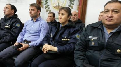 Gastón Pérez Estevan, policias, legislatura