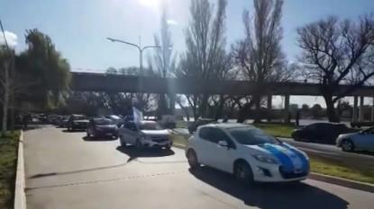 manifestacion, caravana