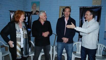 Martin Soria, martin doñate, Alejandro Fernández, Graciela Landriscini