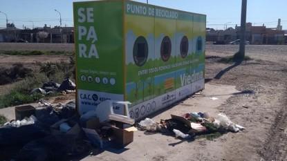 punto de reciclado