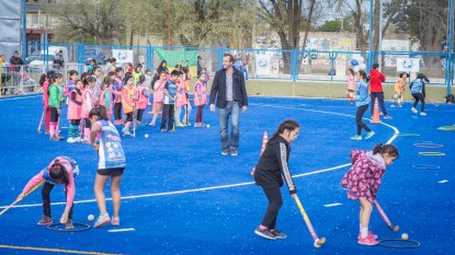 Martin Soria, general roca, hockey