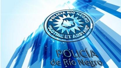 policia de rio negro, logo