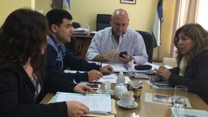 upcn, luis fabian zgaib, Marcelo Vidal, Yasmín López