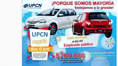 upcn, SORTEO