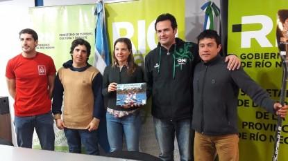 Cristian Almonacid, Natalia Zabaleta, deportistas