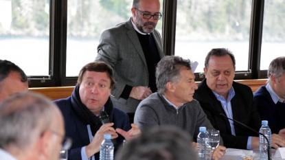 Weretilneck, mauricio macri, bariloche