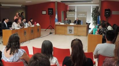 sesion concejo deliberante