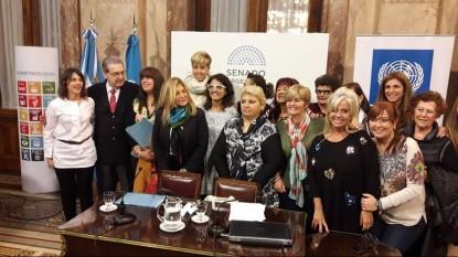 mujeres, senadoras