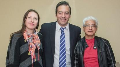 Martin Soria, partido comunista, Juan Mercado, Bárbara Palumbo