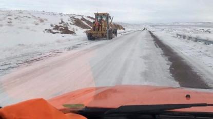 vialidad trabajos camino nieve