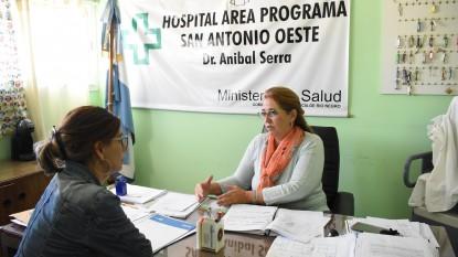 san antonio oeste, hospital, Ayelén Spósito, Paula Iaquinta