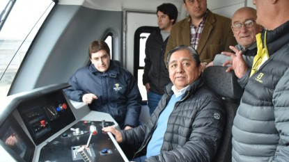 luis ojeda, tren patagonico