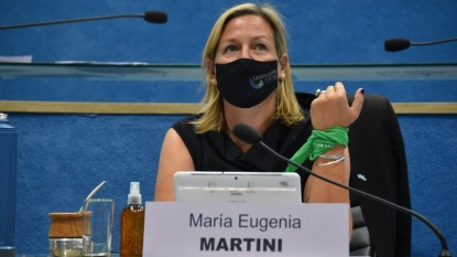 maria eugenia martini, aborto legal