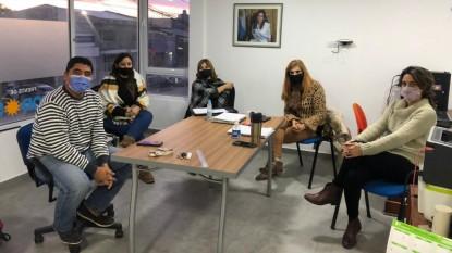 luis noale, Daniela Salzotto, vanesa carmona, marcela dodero, Carla Cabrera