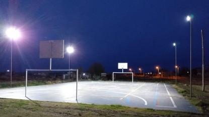 el condor, luces led, playon deportivo