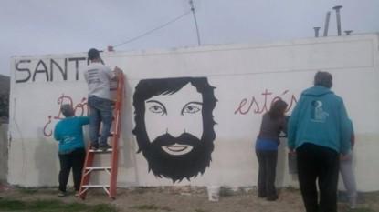 mural, santiago maldonado