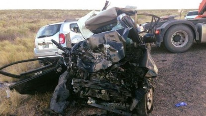 catriel, accidente fatal