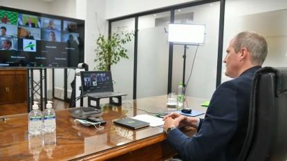 vicegobernador RN reunión INVAP