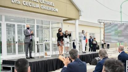 catriel, hospital, INAUGURACION