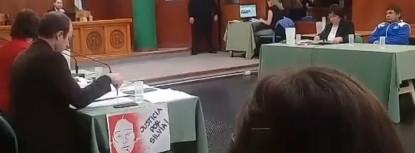 silvia vazquez colque, audiencia judicial, Marcos Thola Durán