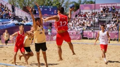 Beach Handball, Juegos Olímpicos de la Juventud, tomas paez