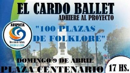 100 plazas folklore