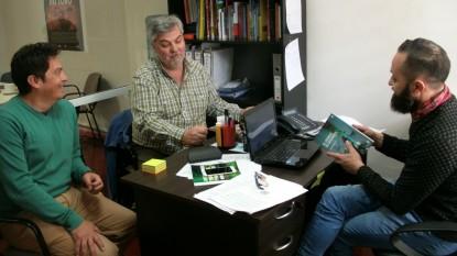 universidad del comahue, fondo editorial rionegrino, Gustavo Ferreyra