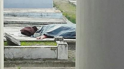 PATAGONES, cementerio, cadaver