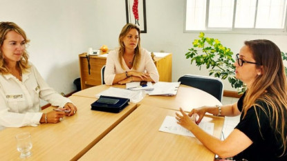 Defensora del Pueblo, Directora de Comercio e Industria, Nadina Díaz, Paola Munyau