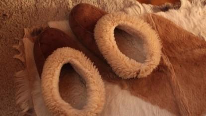 botas de lana