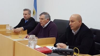 Pablo Repetto, César Gutierrez Elcarás, Guillermo Baquero Lazcano