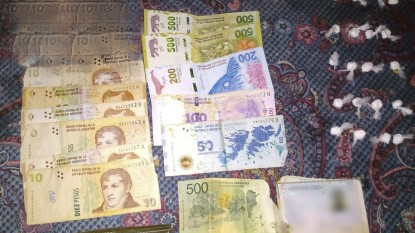 DROGA, dinero