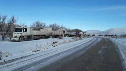camiones, nevada, comallo