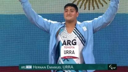 hernan urra, Hernan Urra juegos paraolimpicos