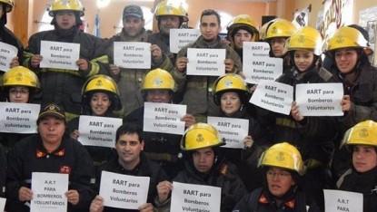 ART, reclamo, bomberos