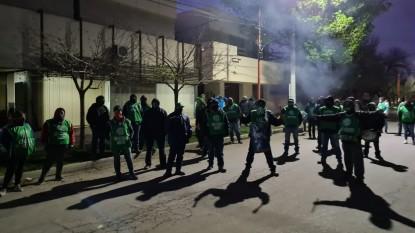 campo grande, ATE, MUNICIPALES, PROTESTA