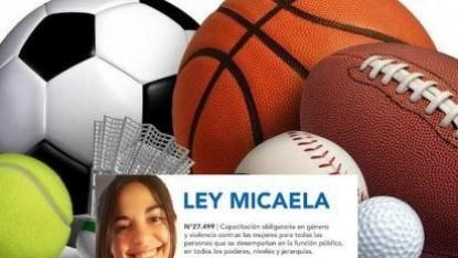 Ley Micaela en el deporte