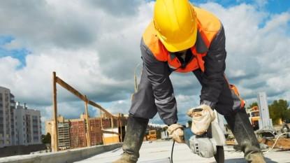 obrero, obra trabajando ciudad
