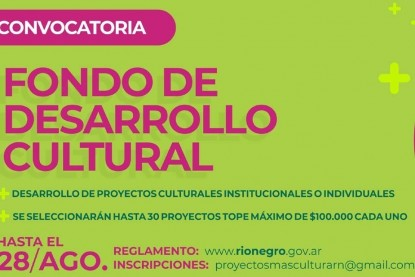 fondo de desarrollo cultural
